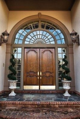 Chic And Simple Entrance Ideas For Your House 07