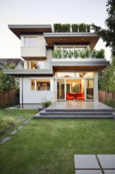 Simple House With Warm Wooden Interior 20