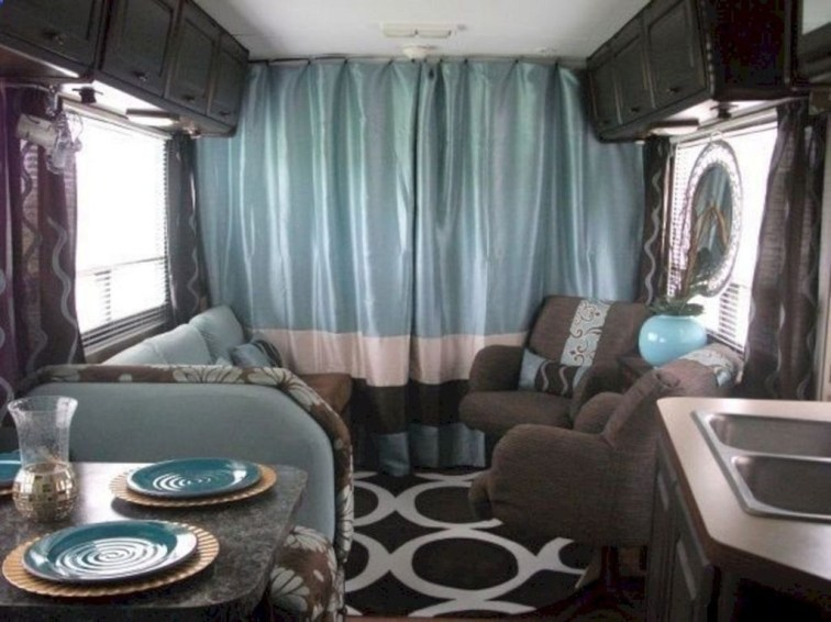 Beautiful Rv Remodel Camper Interior Ideas For Holiday 45