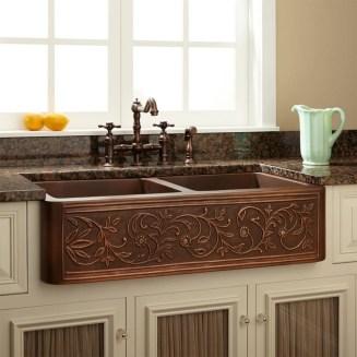 Best Farmhouse Kitchen Sink Ideas 52