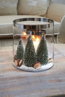 Charming Christmas Candle Decor Ideas 15
