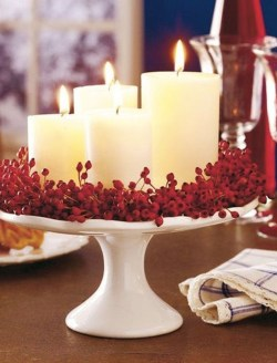 Charming Christmas Candle Decor Ideas 17