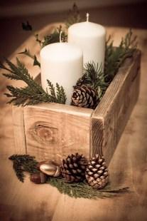 Charming Christmas Candle Decor Ideas 19