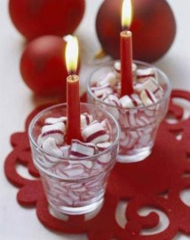 Charming Christmas Candle Decor Ideas 28