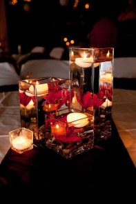Charming Christmas Candle Decor Ideas 46