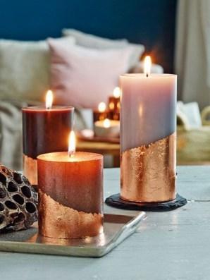 Charming Christmas Candle Decor Ideas 50
