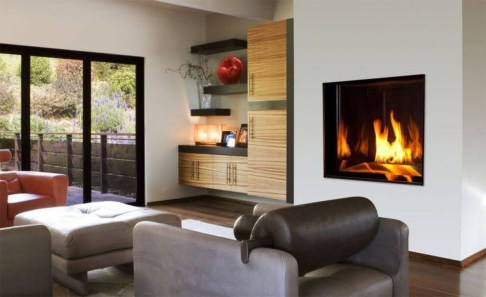 Comfy Winter Living Room Ideas With Fireplace 31