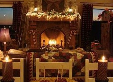 Comfy Winter Living Room Ideas With Fireplace 51