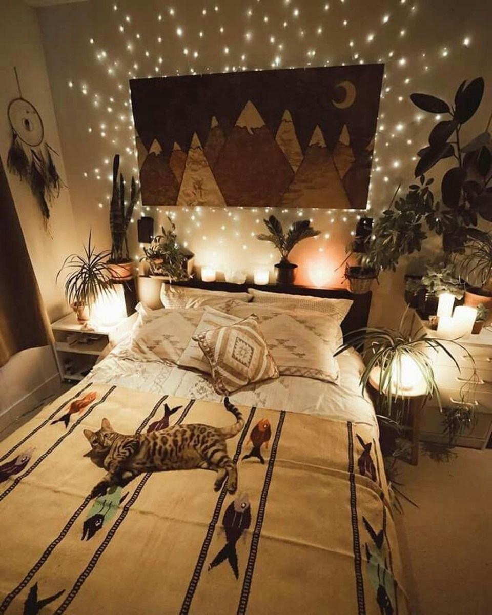 Creative Bohemian Bedroom Decor Ideas 40