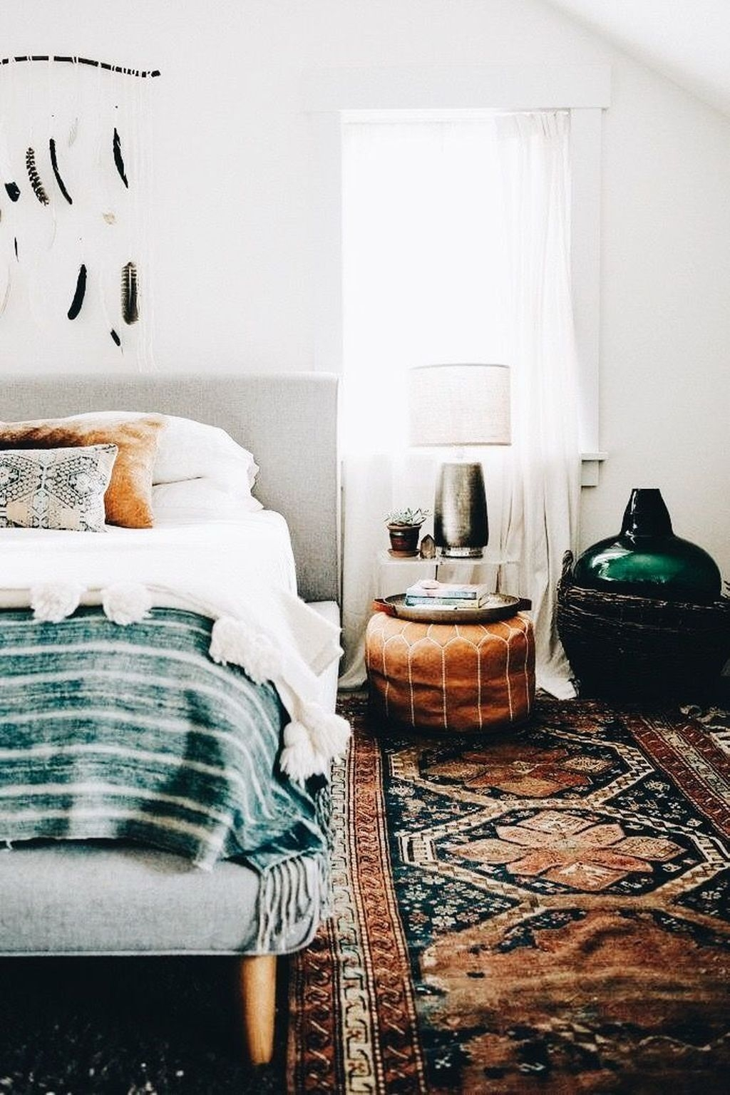 Creative Bohemian Bedroom Decor Ideas 45