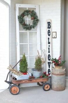 Cute Outdoor Christmas Decor Ideas 42