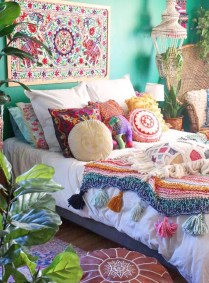 Elegant Bohemian Bedroom Decor Ideas 02