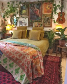 Elegant Bohemian Bedroom Decor Ideas 26