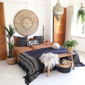 Elegant Bohemian Bedroom Decor Ideas 40
