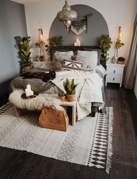Elegant Bohemian Bedroom Decor Ideas 46