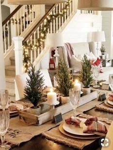 Fascinating Farmhouse Christmas Decor Ideas 27