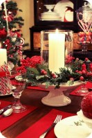 Lovely Red And Green Christmas Home Decor Ideas 14