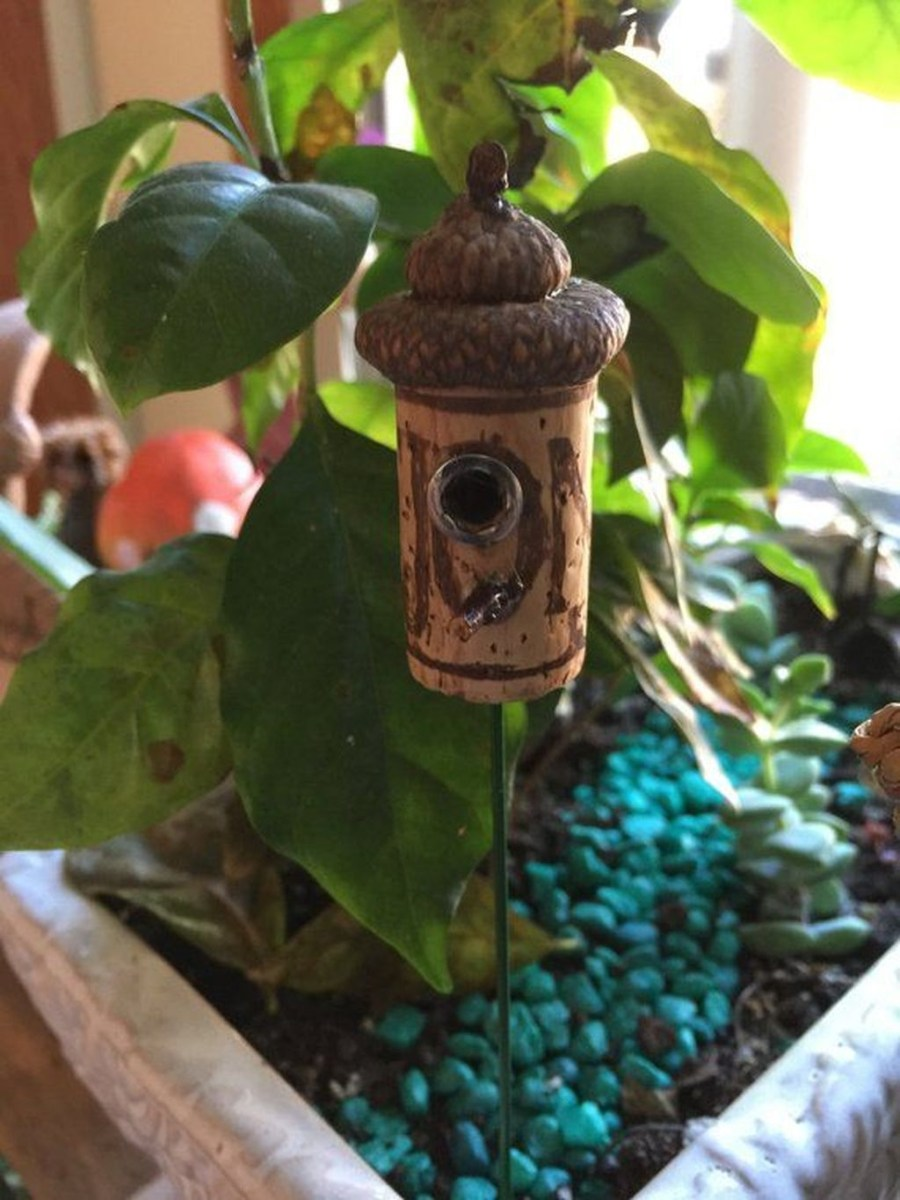 Pretty Diy Christmas Fairy Garden Ideas 32