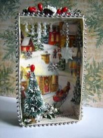Pretty Diy Christmas Fairy Garden Ideas 42