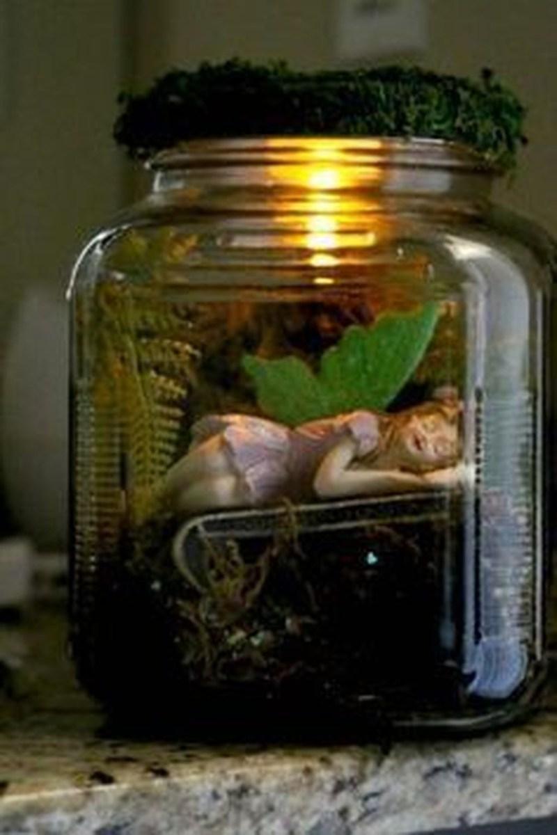 Pretty Diy Christmas Fairy Garden Ideas 44