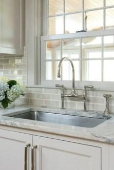 Pretty White Kitchen Backsplash Ideas 01