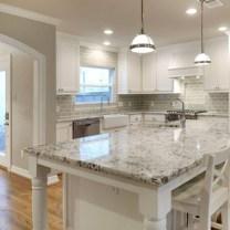 Pretty White Kitchen Backsplash Ideas 11