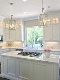 Pretty White Kitchen Backsplash Ideas 36