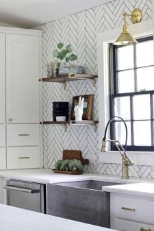 Pretty White Kitchen Backsplash Ideas 48