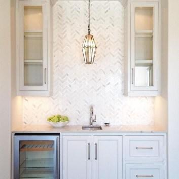 Pretty White Kitchen Backsplash Ideas 56