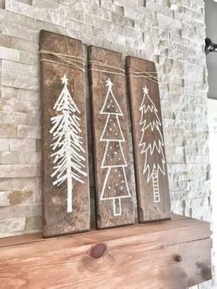 Simple Diy Christmas Home Decor Ideas 36