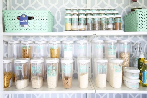 Simple Minimalist Pantry Organization Ideas 08