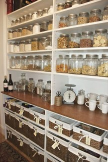 Simple Minimalist Pantry Organization Ideas 09