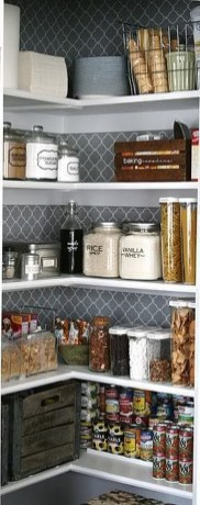 Simple Minimalist Pantry Organization Ideas 26