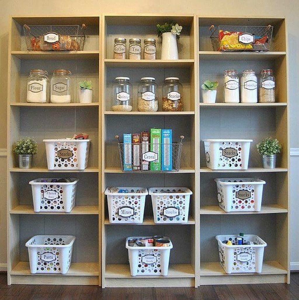 Simple Minimalist Pantry Organization Ideas 37