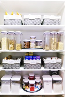 Simple Minimalist Pantry Organization Ideas 45