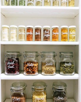 Simple Minimalist Pantry Organization Ideas 51