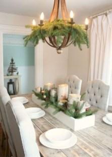 Stunning Christmas Dining Table Decoration Ideas 43