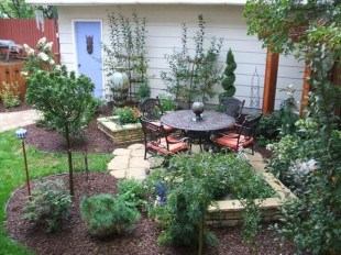 Attractive Small Patio Garden Design Ideas For Your Backyard 03