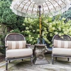 Attractive Small Patio Garden Design Ideas For Your Backyard 16