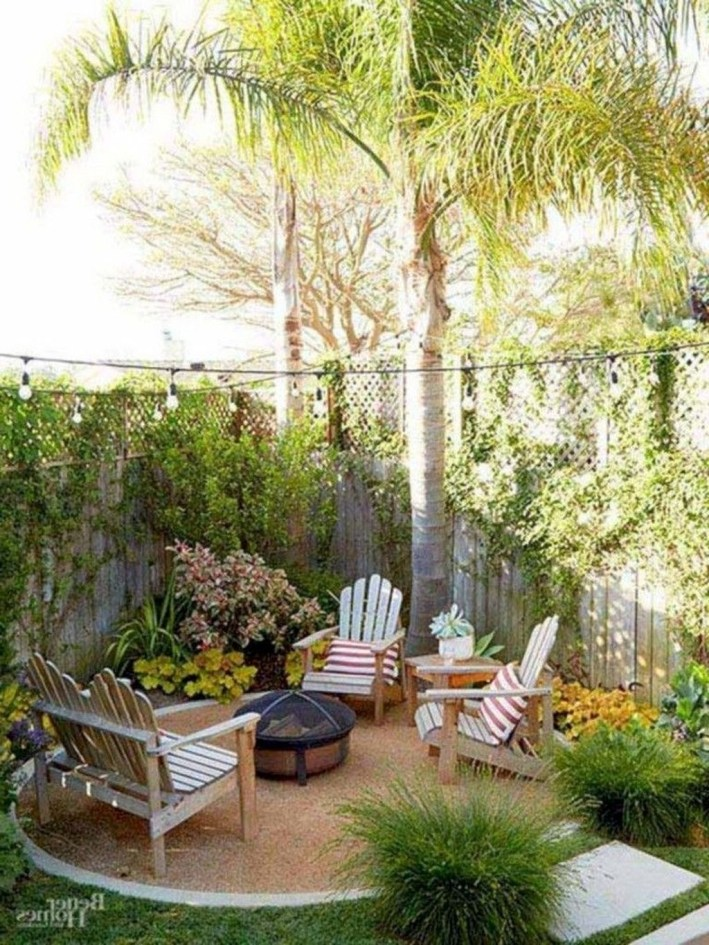 Attractive Small Patio Garden Design Ideas For Your Backyard 20