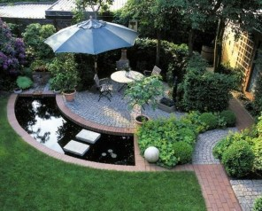 Attractive Small Patio Garden Design Ideas For Your Backyard 22