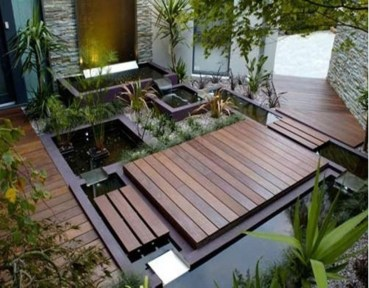 Attractive Small Patio Garden Design Ideas For Your Backyard 37