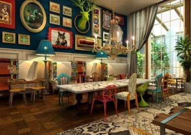 Awesome Bohemian Dining Room Design And Decor Ideas 14