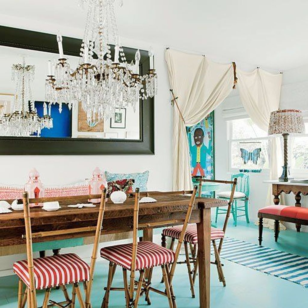 20+ Awesome Bohemian Dining Room Design And Decor Ideas ...