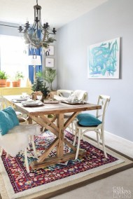 Awesome Bohemian Dining Room Design And Decor Ideas 32