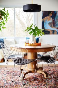 Awesome Bohemian Dining Room Design And Decor Ideas 34