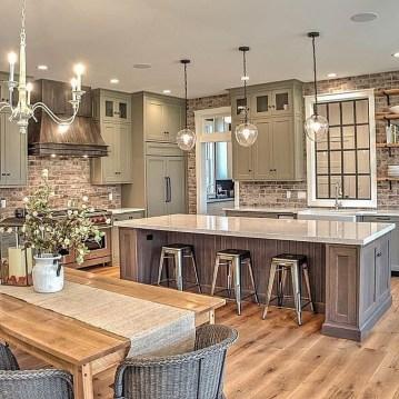 Awesome Farmhouse Kitchen Design Ideas 36