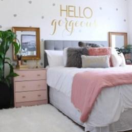 Cute Teen Bedroom Decor Design Ideas 12
