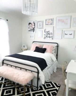 Cute Teen Bedroom Decor Design Ideas 22
