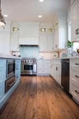 Elegant Beach Coastal Style Kitchen Decor Ideas 16